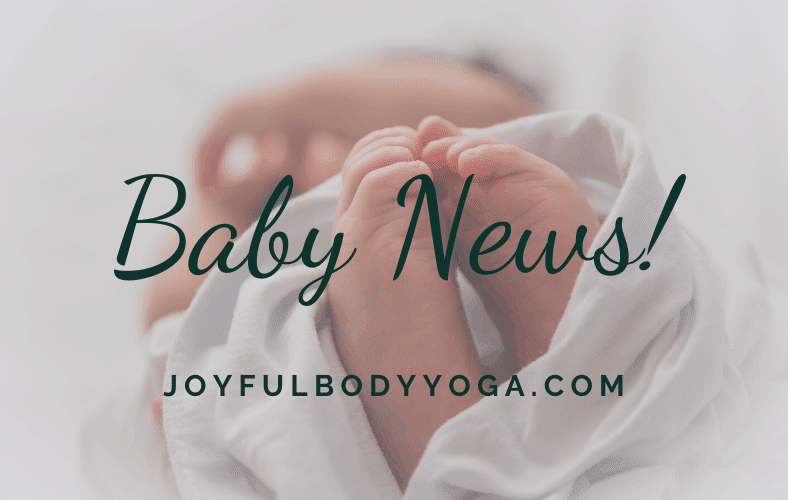 Baby news client testimonials yoga